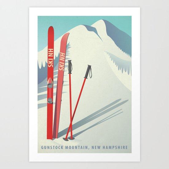 Ski New Hampshire - Gunstock Mountain by allisonwebster