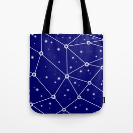 Constellations/Star Gazing Tote Bag