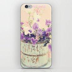 Sweet peas iPhone & iPod Skin