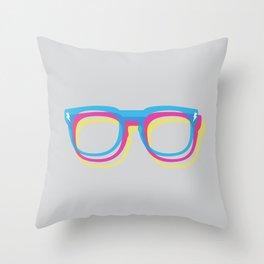 CMYgeeK Throw Pillow