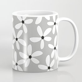 Happy flowers Gray Coffee Mug