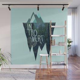 Introvert Wall Mural