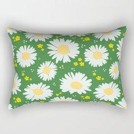Spring Dream Daisies Rectangular Pillow