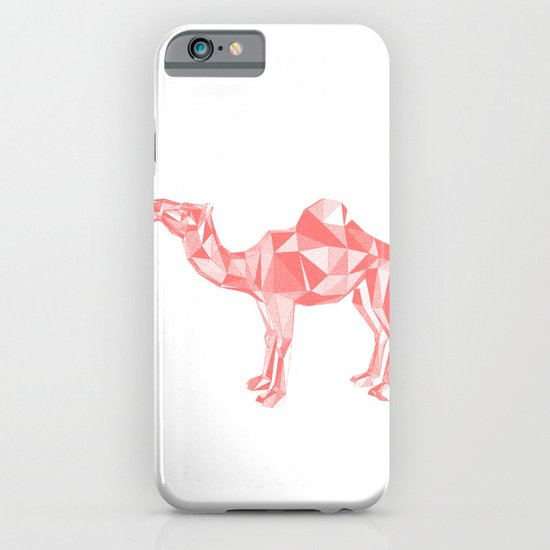 Red mirage iPhone & iPod Case