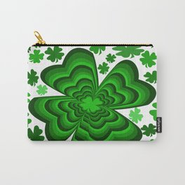 Lucky 4 Leaf Clover Carry-All Pouch
