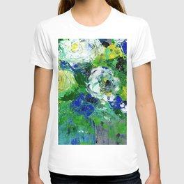 Abstract Floral - Botanical T-shirt