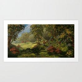 September Forest Art Print