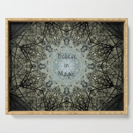 Believe in Magic Serving Tray