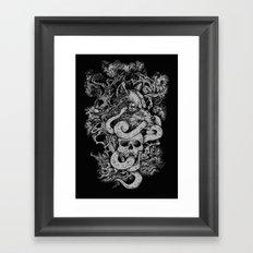 The End Of Light Framed Art Print