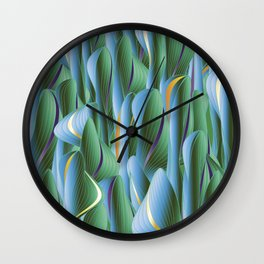 Another Green World Wall Clock