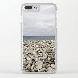 TOBERMORY BEACH Clear iPhone Case