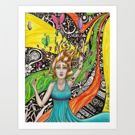 What Dreams Are Made Of Art Print