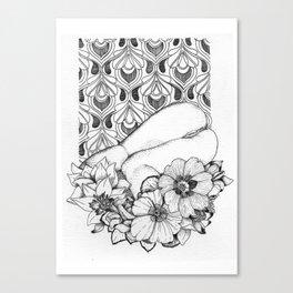 booty flower Canvas Print