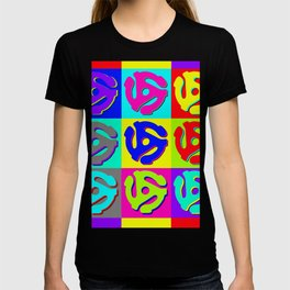 Pop Art Retro Vinyl Collector T-shirt
