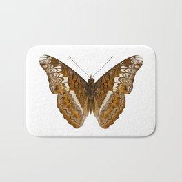 Admiral limenites butterfly Bath Mat