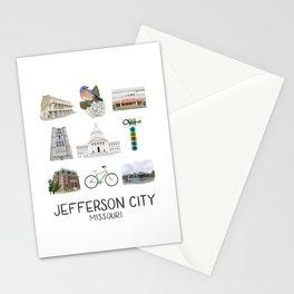 Jefferson City, Missouri Stationery Cards