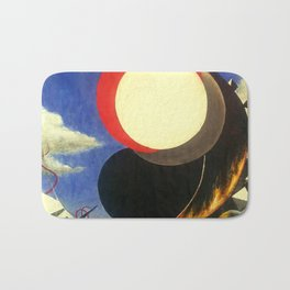 I Am Lost: Can You Help Me? by Michael Gilbert Bath Mat
