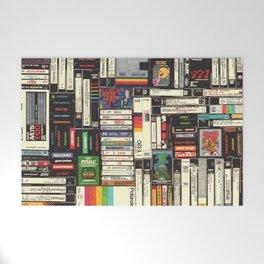 Cassettes, VHS & Games Welcome Mat
