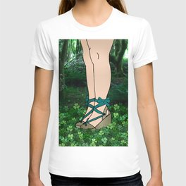 Stroll in an Irish Forest T-shirt