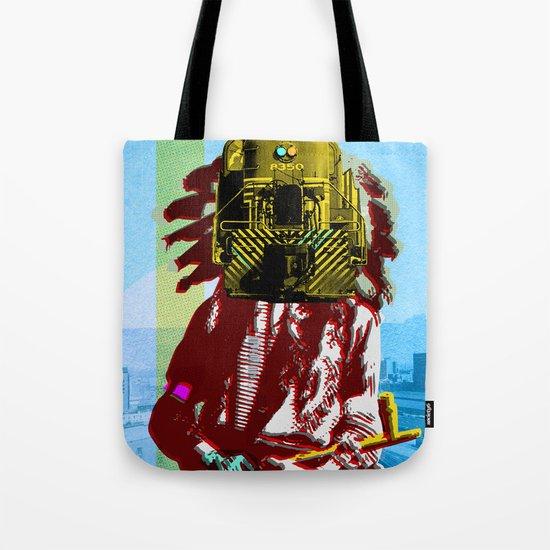 Indian Pop 45 Tote Bag