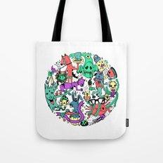 Vicious Circle Tote Bag