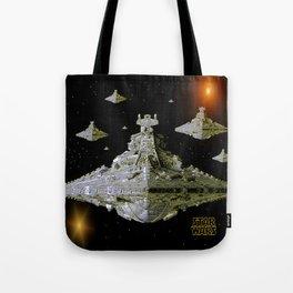 Galactic Battle Cruisers  Tote Bag