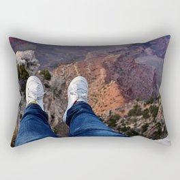 Risky Dangle! Rectangular Pillow