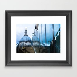Blue Dome Framed Art Print