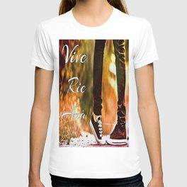 Vive, ríe, ama ( Live, laugh, love) T-shirt