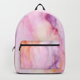 Rose and pink Marble texture Backpack