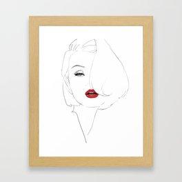 Zanna Framed Art Print