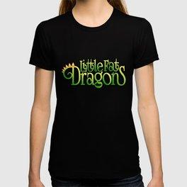 Little Fat Dragons - Green Logo T-shirt