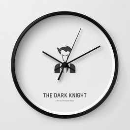 Flat Christopher Nolan movie poster: Dark K. Wall Clock