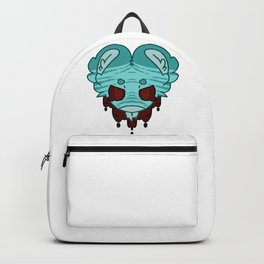 Minty wine tiger Backpack