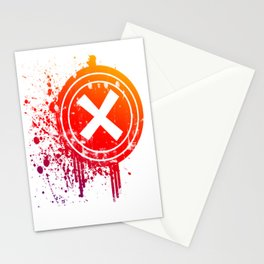 X vector Stationery Cards