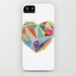 Heart Graphic 5 iPhone Case