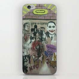 Mexican wills iPhone Skin