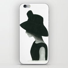 Audrey iPhone & iPod Skin