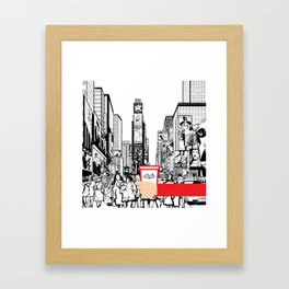 Krk in NY Framed Art Print