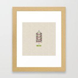 Joy Tree Framed Art Print