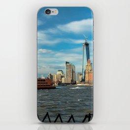 Freedom Tower 2013 w/ Boat iPhone Skin
