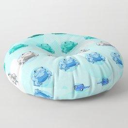 mlm Pride Frogs Floor Pillow
