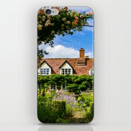 Cottage garden. v2 iPhone Skin