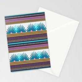 Multi Geometric Love Stationery Cards