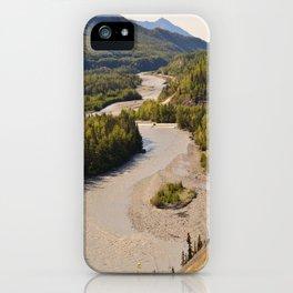 MatRiverValley iPhone Case