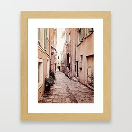 new day in Rio Framed Art Print