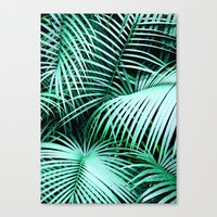 palms Canvas Prints featuring Palms by Karen Hofstetter