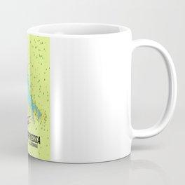 Lake Berryessa, Napa County, California travel poster Coffee Mug