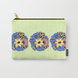 30s DECO BOUQUET: SPRING BREEZE Carry-All Pouch
