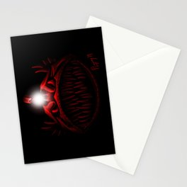 The Light Is Hungry Stationery Cards